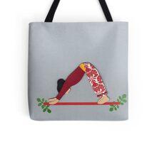 Adho Mukha Svanasana - DOWNWARD-FACING DOG yoga posture Tote Bag
