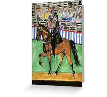 Tennessee Walking Horse Portrait Greeting Card