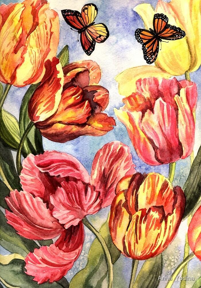 Tulips by Anna  Yudina