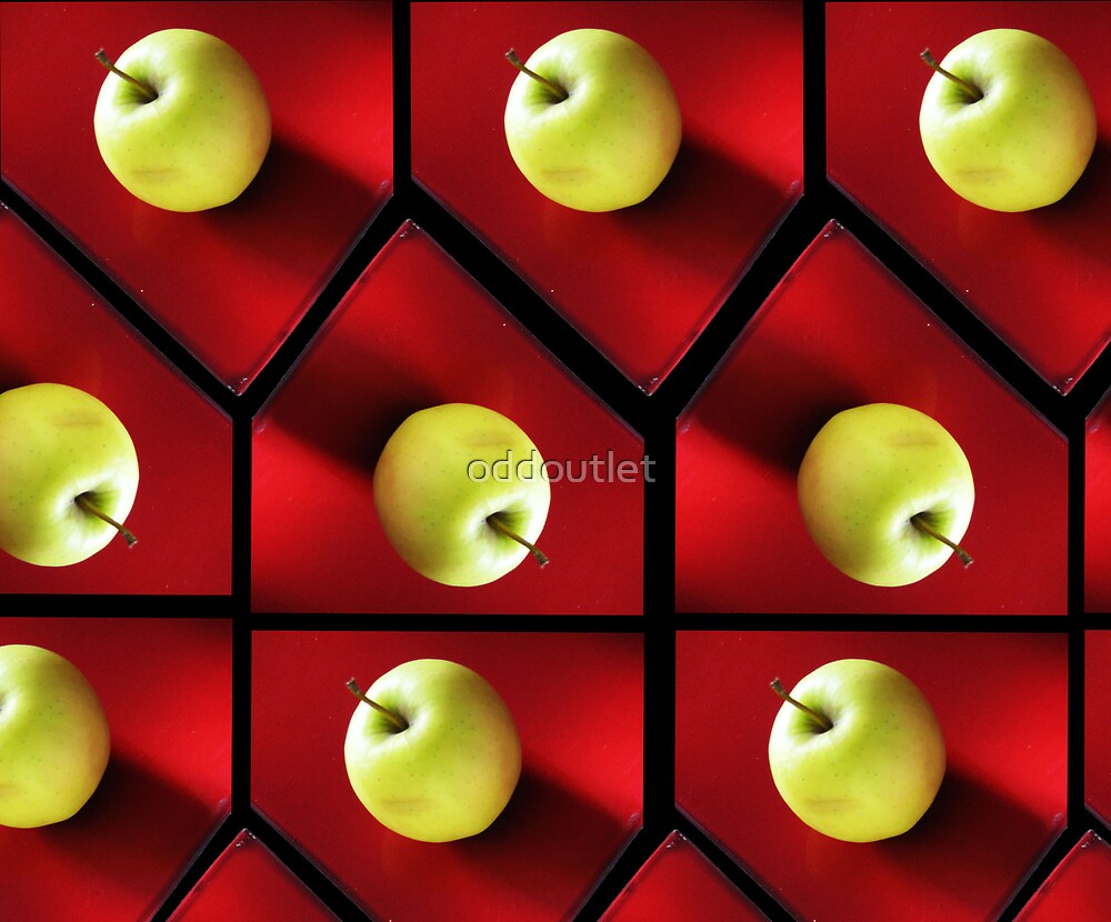 Apples on a Platter  by oddoutlet