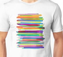 Colorful Stripes 1 Unisex T-Shirt