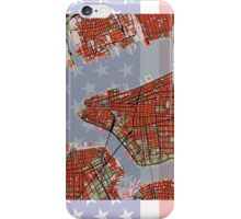 New York city strips and stars iPhone Case/Skin