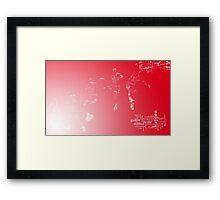 air j Framed Print