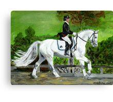 Dressage Horse I Portrait Canvas Print