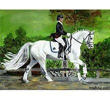 Dressage Horse I Portrait Photographic Print