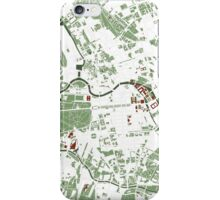 Berlin city map minimal iPhone Case/Skin