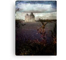 Remote Castle Canvas Print