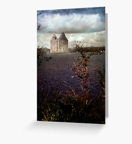 Remote Castle Greeting Card