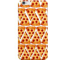 Pizza Emoji Pattern iPhone Case/Skin