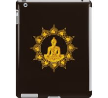 Buddha Meditation, Lotus Flower, Anahata, Heart Chakra iPad Case/Skin