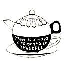 Illustration art - Be thankful by Marikohandemade
