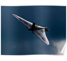 The Delta Lady - Vulcan XH558 Poster