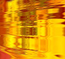 SR Grant Original Digital Painting Artwork: MAYAN FILM REEL from new series 2009 by srgrant
