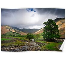 Bow Fell View Poster