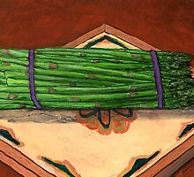 Autumn Asparagus Spears by bernzweig