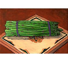 Autumn Asparagus Spears Photographic Print