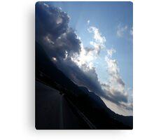 Road Sky Canvas Print