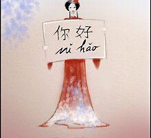 Fashion bag Ni Hao by LinShi