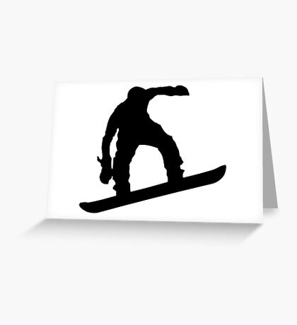 Snowboarder 4 Greeting Card