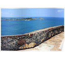 Entrance to San Juan Bay Poster