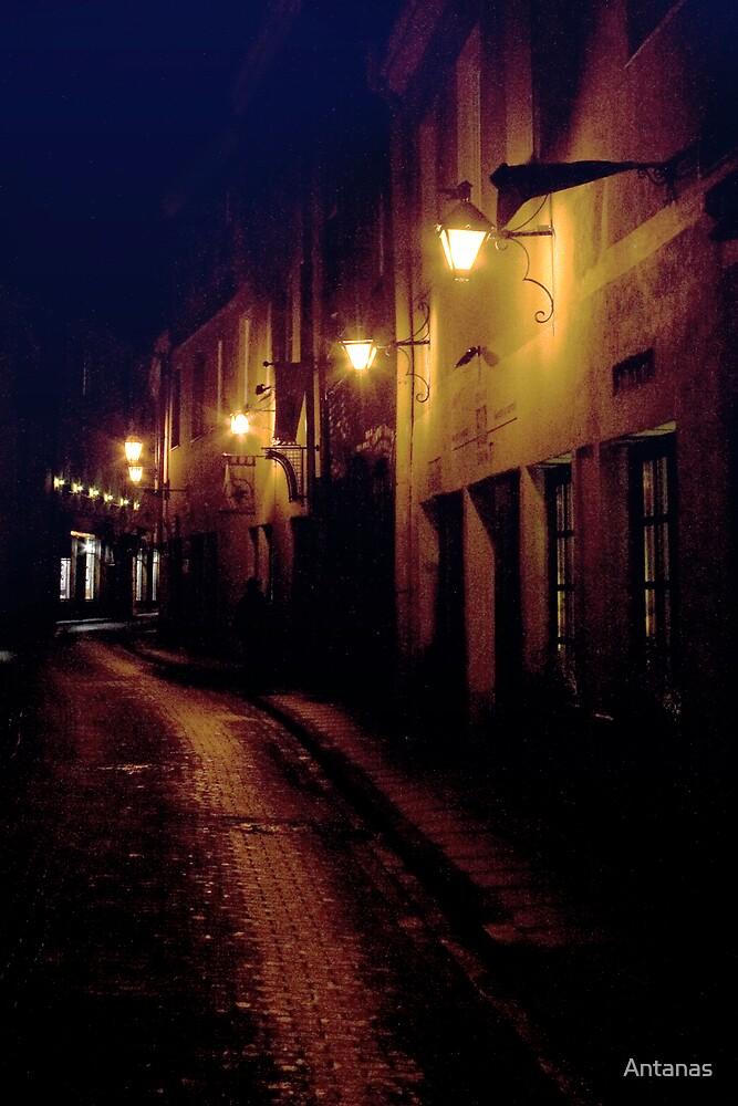 One way (My city) by Antanas