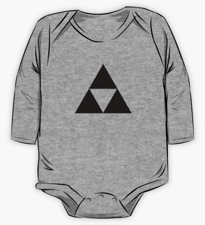 Triforce - Ancient Magical Symbol, Sierpinski Triangle One Piece - Long Sleeve