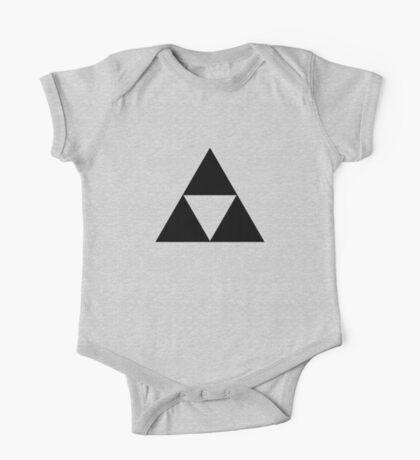 Triforce - Ancient Magical Symbol, Sierpinski Triangle One Piece - Short Sleeve