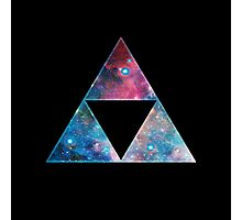 Triforce - Ancient Magical Symbol, Sierpinski Triangle Photographic Print