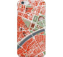 Seville city map classic iPhone Case/Skin