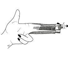 tøp Guns For Hands design by iseeyrcutedecor