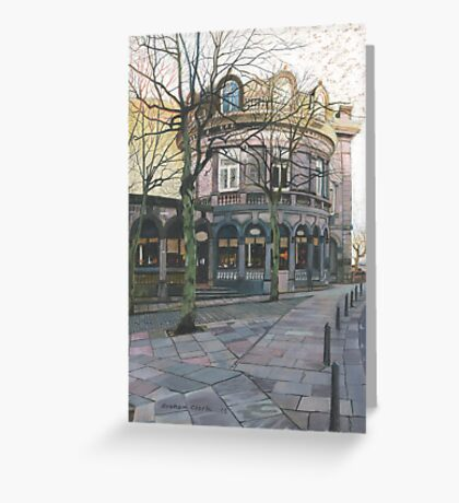 The Crown Hotel, Harrogate, North Yorkshire Greeting Card