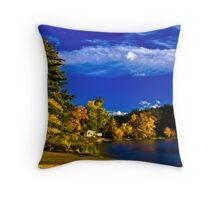Crystal Lake, NH Throw Pillow