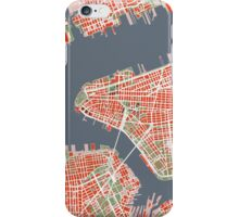 New York map classic iPhone Case/Skin
