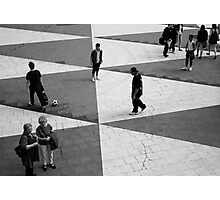 A playground is where you want it to be Photographic Print