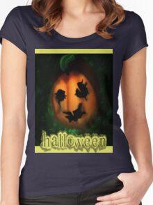 Halloween Women's Fitted Scoop T-Shirt