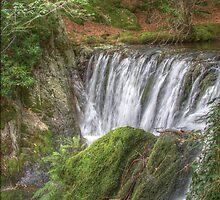 Dyfi Furnace waterfall by Keith Trivett