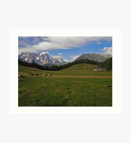 His Majesty Mont Blanc Art Print
