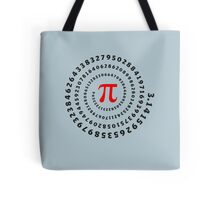 Pi, π, spiral, Science, Mathematics, Math, Irrational Number, Sequence Tote Bag