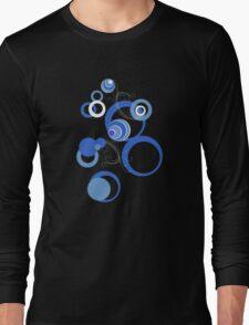 Retro Bubbles Seventies II Long Sleeve T-Shirt