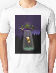 Lego Alien Abduction Unisex T-Shirt