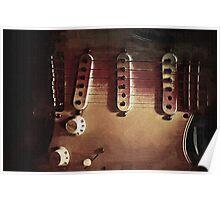 Fender Strat 1973 Poster