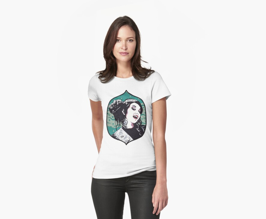 Miss BettyAnn t-shirt by Angelique  Moselle