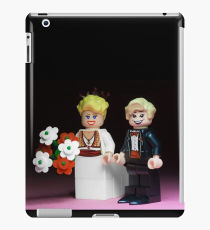 Lego Bride and Groom iPad Case/Skin