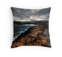 Obstacle Course, Bombo, NSW Throw Pillow