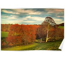 IncREDible Colours Of Autumn Poster