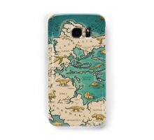 map of the supercontinent Pangaea Samsung Galaxy Case/Skin