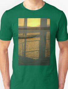 Tranquil Ocean Landscape Reflection Unisex T-Shirt