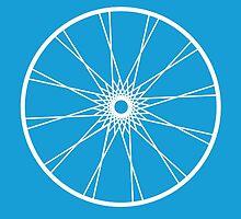 bike wheel by Roxana Crivat
