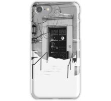 Winter Weather Snow Storm iPhone Case/Skin