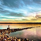 Sunset on Onondaga Lake by photoescapist